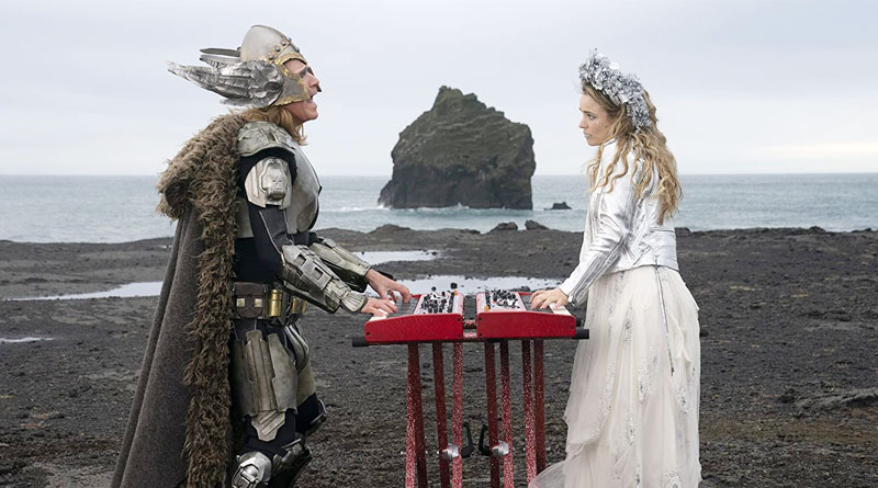 "Will Ferrell and Rachel McAdams in the scene from ""Eurovision Song Contest: The Story of Fire Saga"""