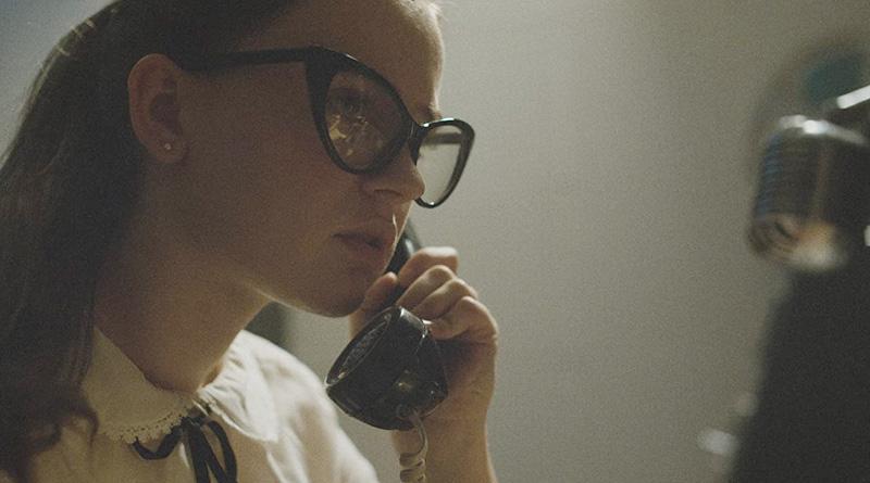 "Fay Crocker (Sierra McCormick) in a scene from Andrew Patterson's ""The Vast of Night""."