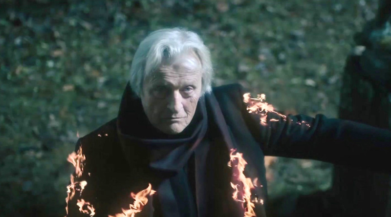 "The late Rutger Hauer in one of his last performances in ""The Sonata""."