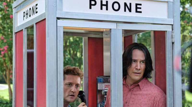 "Keanu Reeves and Alex Winter are back in ""Bill & Ted Face the Music"" (2020)"