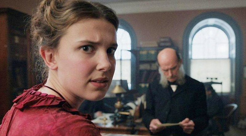 "Millie Bobby Brown plays the title character in Netflix's ""Enola Holmes""."