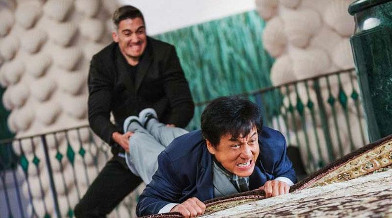 "Jackie Chan in ""Kung Fu Yoga"" (2017)"