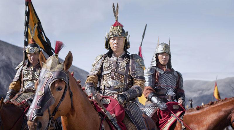 """Donnie Yen in Disney's live-action """"Mulan"""" (2020)"""