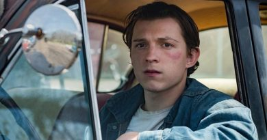 "Tom Holland in Netflix's ""The Devil All the Time""."