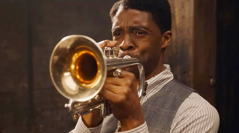 "Chadwick Boseman in his unexpectedly final performance as Levee in Netflix's ""Ma Rainey's Black Bottom"""