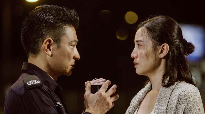 """Andy Lau and Song Jia in Herman Yau's """"Shock Wave"""" (2017)"""