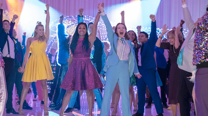 "Jo Ellen Pellman and Ariana DeBose in Netflix's ""The Prom"" (2020)"