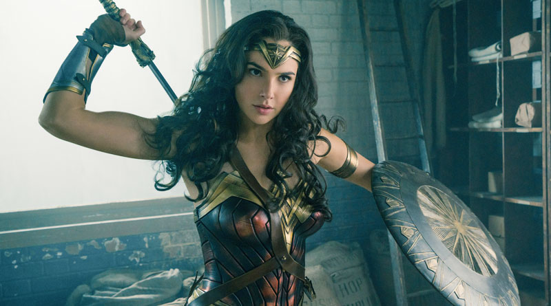 "Gal Gadot as Diana Prince in ""Wonder Woman"""