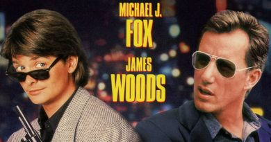"The unlikely duo of Michael J. Fox and James Woods in ""The Hard Way"" (1991)"