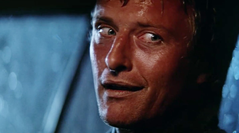 """Rutger Hauer in """"The Hitcher"""" (1986)"""