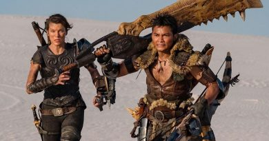 "Milla Jovovich and Tony Jaa in ""Monster Hunter"" (2020)"