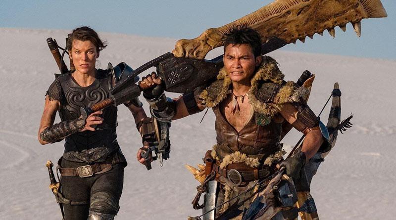 """Milla Jovovich and Tony Jaa in """"Monster Hunter"""" (2020)"""