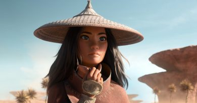 "Raya (voiced by Kelly Marie Tran) in Disney's ""Raya and the Last Dragon"" (2021)"