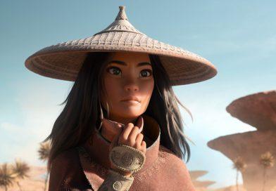 "Raya (voiced by Kelly Marie Tran) in Disney's ""Raya and the Last Dragon"" (2021)"