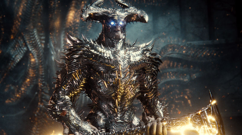 """Steppenwolf (Ciaran Hinds) in Zack Snyder's """"Justice League"""" (2021)"""
