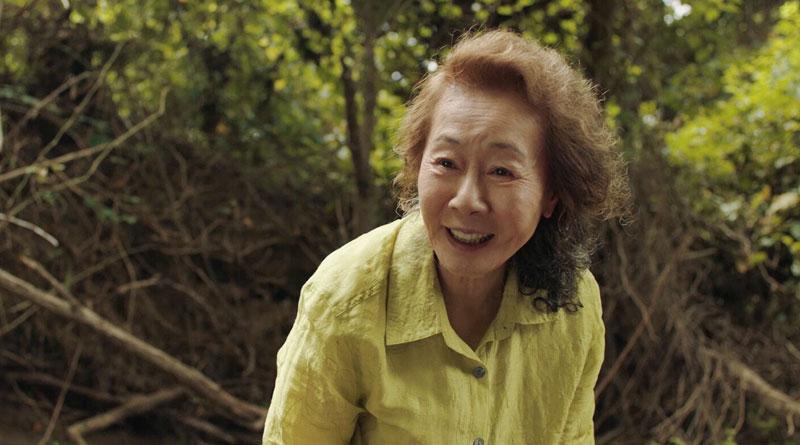 """Grandma Soon-ja (Youn Yuh-Jung) in """"Minari"""" (2020)"""