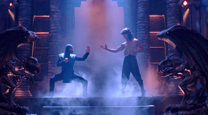 """A scene from """"Mortal Kombat"""" (1995)"""