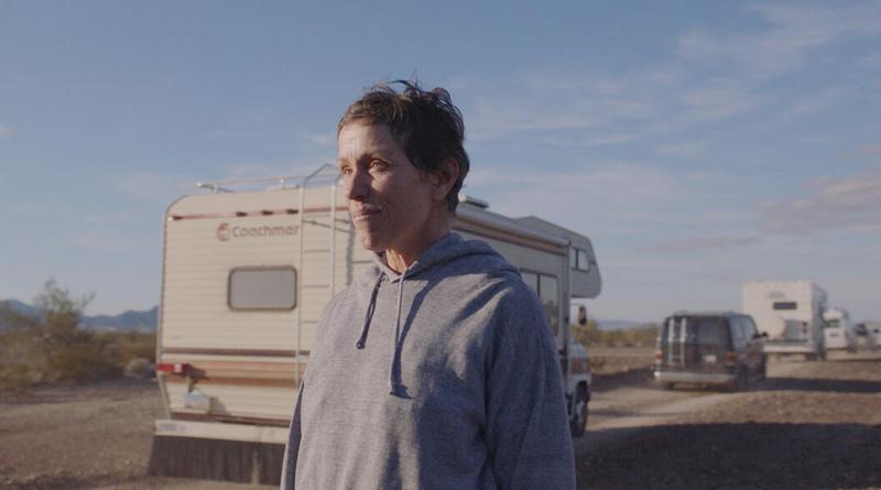 "Frances McDormand in Chloé Zhao's ""Nomadland"" (2020)"