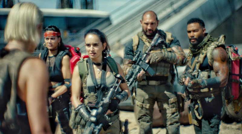 """A scene from Netflix's """"Army of the Dead"""" (2021)"""