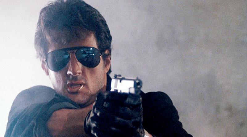 """Sylvester Stallone in """"Cobra"""" (1986)"""