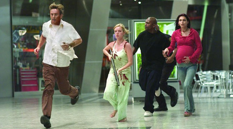 """A scene from the """"Dawn of the Dead"""" remake (2004)"""