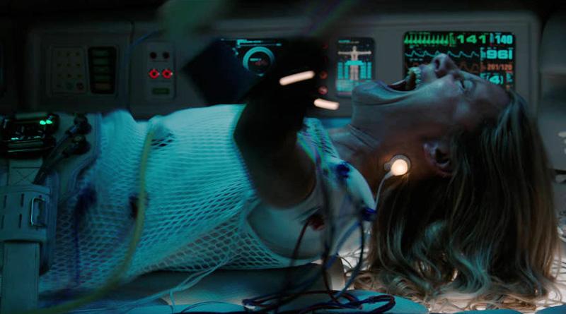 "A scene from Netflix's ""Oxygen"" (2021)"