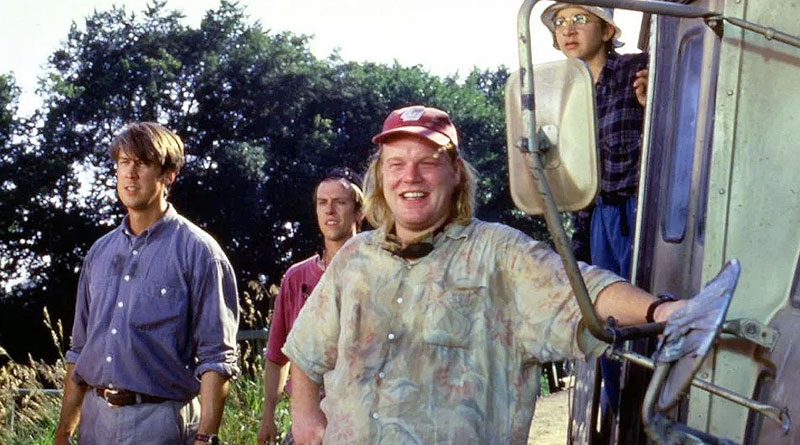 """Philip Seymour Hoffman (middle) in """"Twister"""" (1996)"""