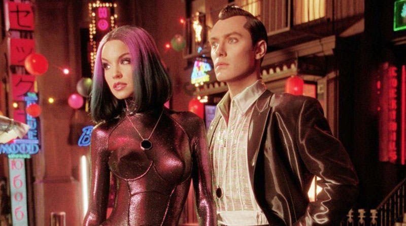 """Jude Law and Ashley Scott in in """"A.I. Artificial Intelligence"""" (2001)"""