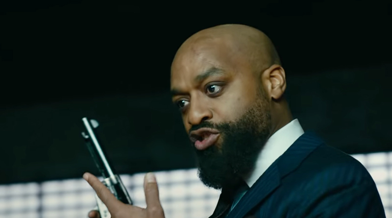 """Chiwetel Ejiofor in Paramount+'s """"Infinite"""" (2021)"""