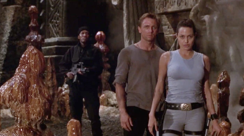"Daniel Craig co-stars in ""Lara Croft: Tomb Raider"" (2001)"