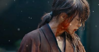 "Takeru Satoh reprising his title role in ""Rurouni Kenshin: The Final"" (2021)"