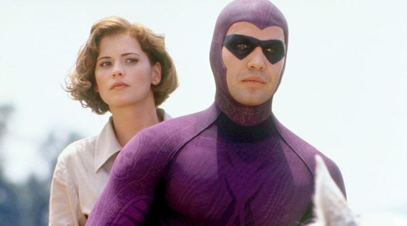 """Billy Zane and Kristy Swanson in """"The Phantom"""" (1996)"""