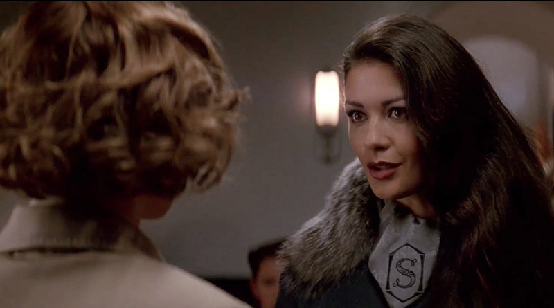 "Then-unknown Catherine Zeta-Jones in ""The Phantom"" (1996)"
