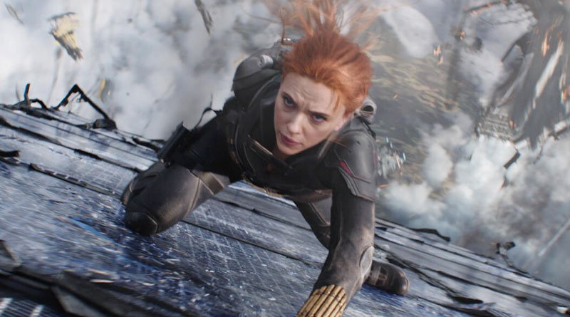 """Scarlett Johansson reprised her iconic role in """"Black Widow"""" (2021)"""