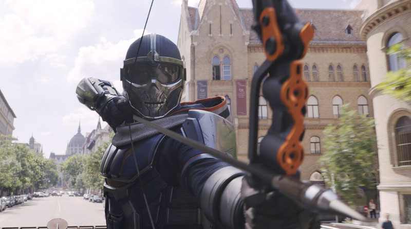 """The mysterious Taskmaster in """"Black Widow"""" (2021)"""