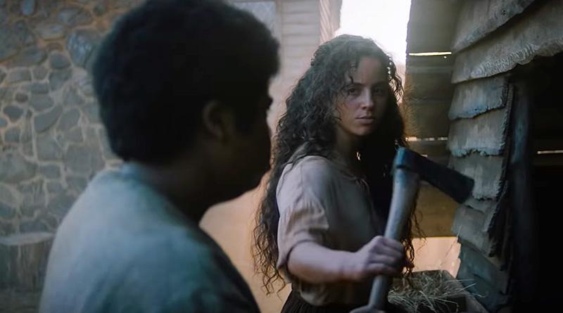 "A scene from Netflix's ""Fear Street Part Three: 1666"" (2021)"