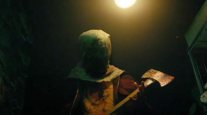 """The possessed axe-wielding killer in Netflix's """"Fear Street Part Two: 1978"""" (2021)"""