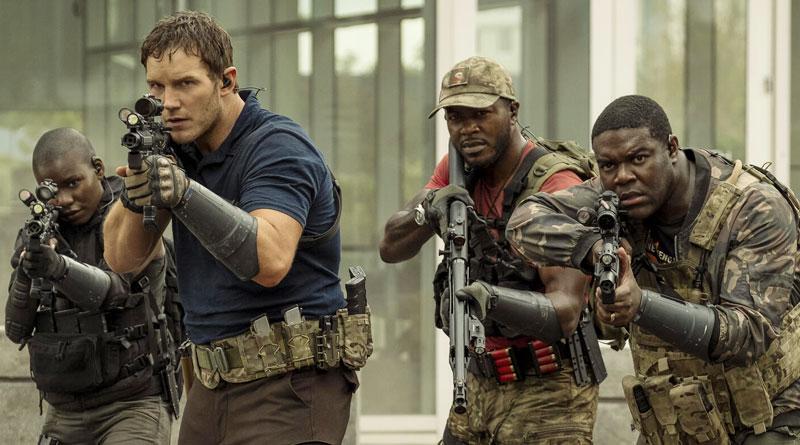 "Chris Pratt in Amazon Prime Video's ""The Tomorrow War"" (2021)"