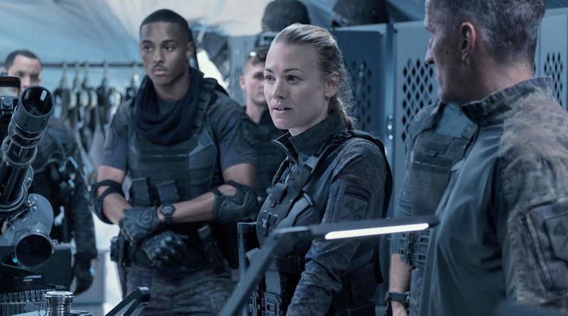 "Yvonne Strahovski in Amazon Prime Video's ""The Tomorrow War"" (2021)"