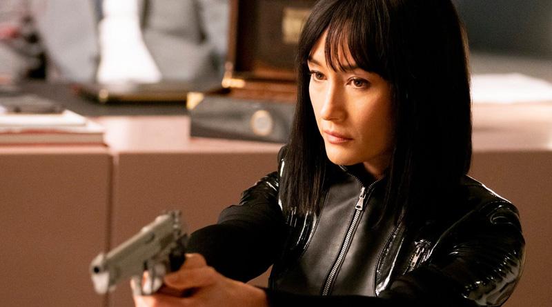 """Maggie Q in """"The Protégé"""" (2021)"""
