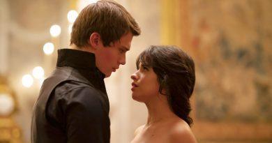 """Camila Cabello and Nicholas Galitzine in Amazon Prime Video's """"Cinderella"""" (2021)"""