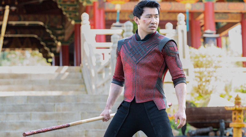 """Simu Liu plays the title character in """"Shang-Chi and the Legend of the Ten Rings"""" (2021)"""