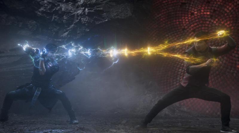 """Simu Liu and Tony Leung Chiu-Wai in """"Shang-Chi and the Legend of the Ten Rings"""" (2021)"""