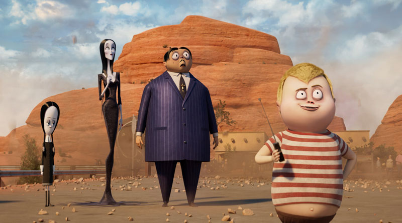 """The oddball family is back in """"The Addams Family 2"""" (2021)"""